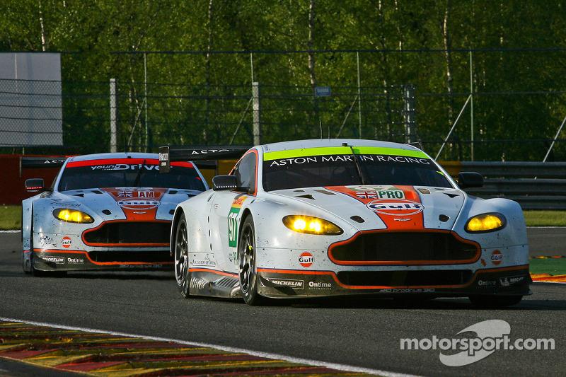 #97 Aston Martin Vantage V8: Darren Turner, Stefan Mücke, Bruno Senna