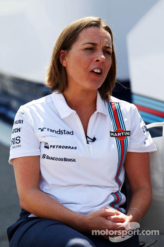 Claire Williams, Williams Yardımcı Takım Patronu