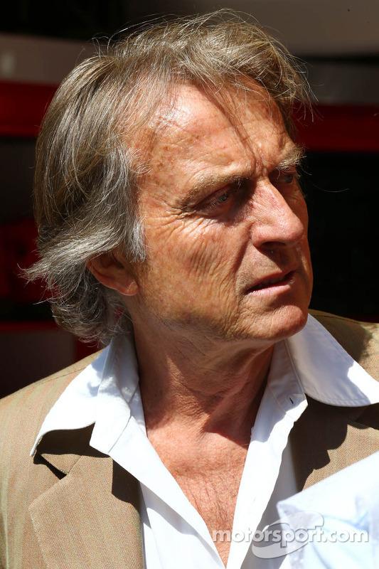 Luca di Montezemolo, Ferrari, Präsident