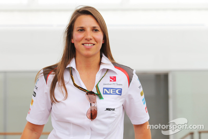 Simona de Silvestro, collaudatrice Sauber F1 Team