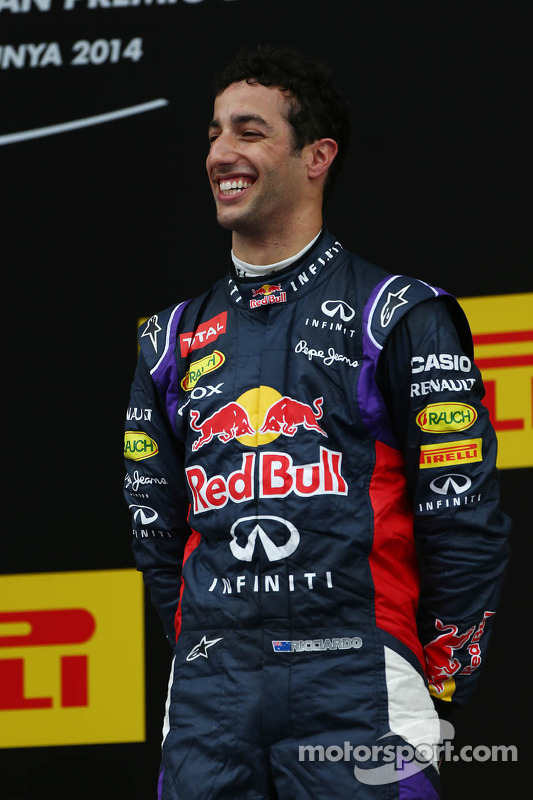 Pódio: terceiro lugar Daniel Ricciardo
