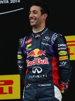 Podium: third place Daniel Ricciardo