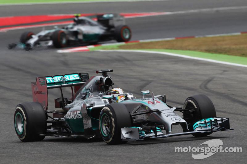 2014 İspanya GP: Lewis Hamilton, Mercedes AMG F1 W05