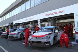 Yvan Muller, Citroen C-Elysee WTCC, Citroen Total WTCC ve Jose Maria Lopez, Citroen C-Elysee WTCC, Citroen Total WTCC