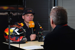 Max Verstappen, Red Bull Racing avec son casque