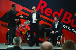 Hubert Trunkenpolz, KTM Yönetim kurlu üyeleri, KTM Motorsporları sorumlusu Pit Beirer ve Alex Hofmann