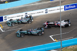 Nelson Piquet Jr., Jaguar Racing, Mitch Evans, Jaguar Racing & Edoardo Mortara, Venturi Formula E Team