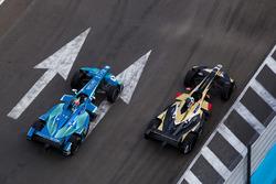 Andre Lotterer, Techeetah. Antonio Felix da Costa, Andretti Formula E Team