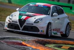 Фабрицио Джованарди, Alfa Romeo Giulietta TCR, Romeo Ferraris