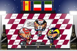 El GP de Qatar de MotoGP 2018, por MiniBikers