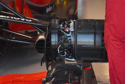 Ferrari SF71H brakes detail
