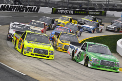 Matt Crafton, ThorSport Racing, Ford F-150 Ideal Door/Menards and Ben Rhodes, ThorSport Racing, Ford F-150