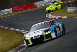 #5 Audi Sport Team Phoenix Audi R8 LMS: Frank Stippler, Christopher Haase, Frederic Vervisch