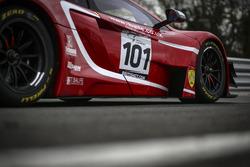 #101 Balfe Motorsport McLaren 650S GT3: Shaun Balfe, Rob Bell