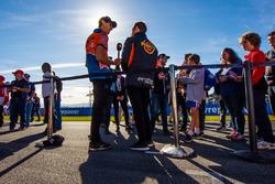 Nick Percat, Brad Jones Racing Holden David Reynolds, Erebus Motorsport Holden