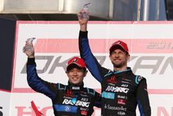 Podium: #100 Team Kunimitsu Honda NSX Concept GT: Naoki Yamamoto, Jenson Button