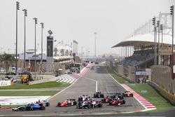 Lando Norris, Carlin, Arjun Maini, Trident, Ralph Boschung, MP Motorsport