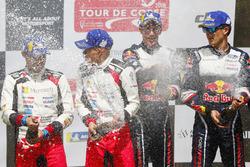 Podyum: Yarış galibi Sébastien Ogier, Julien Ingrassia, M-Sport Ford WRT Ford Fiesta WRC, 2. Ott Tänak, Martin Järveoja, Toyota Gazoo Racing WRT Toyota Yaris WRC