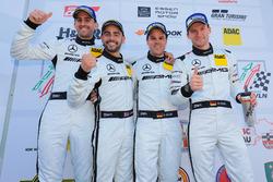 Podyum: #14 AMG Team Black Falcon Mercdes-AMG GT3: Maro Engel, Adam Christodoulou, Manuel Metzger, Dirk Müller