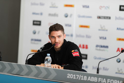 Edoardo Mortara, Venturi Formula E Team, in the press conference