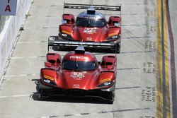#55 Mazda Team Joest Mazda DPi, P: Jonathan Bomarito, Harry Tincknell, #77 Mazda Team Joest Mazda DPi, P: Oliver Jarvis, Tristan Nunez
