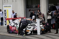 #69 IronForce by RING POLICE Porsche 911 GT3 R: Jan-Erik Slooten, Lucas Luhr