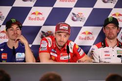 Maverick Viñales, Yamaha Factory Racing, Andrea Dovizioso, Ducati Team, Cal Crutchlow, Team LCR Honda
