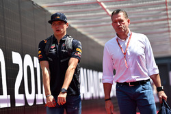 Max Verstappen, Red Bull Racing and Father Jos Verstappen