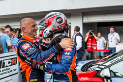 Gabriele Tarquini, BRC Racing Team Hyundai i30 N TCR, Norbert Michelisz, BRC Racing Team Hyundai i30 N TCR