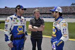 Chase Elliott, Hendrick Motorsports, Chevrolet Camaro NAPA Auto Parts and Bill Elliott