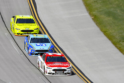 Paul Menard, Wood Brothers Racing, Ford Fusion Motorcraft / Quick Lane Tire & Auto Center, Ricky Stenhouse Jr., Roush Fenway Racing, Ford Fusion Fifth Third Bank and Ryan Blaney, Team Penske, Ford Fusion Menards/Richmond