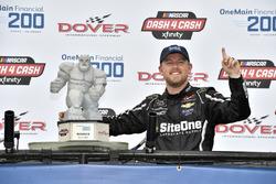 Race winner Justin Allgaier, JR Motorsports, Chevrolet