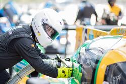 #14 Inter Europol Competition Ligier JS P3 - Nissan: Paul Scheuschner, Luca Demarchi, Hendrik Still, refueling