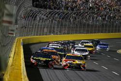 Martin Truex Jr., Furniture Row Racing, Toyota Camry 5-hour ENERGY/Bass Pro Shops Kyle Busch, Joe Gibbs Racing, Toyota Camry M&M's M&M's Red Nose Day
