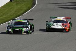 #19 TruSpeed AutoSport Audi R8 LMS: Parker Chase, #07 Squadra Corse Garage Italia Americas Ferrari 488 GT3: Martin Fuentes