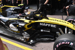 Carlos Sainz Jr., Renault Sport F1 Team RS18, side