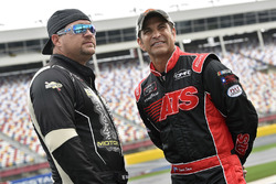 B.J. McLeod, B.J. McLeod Motorsports, Chevrolet Camaro and David Starr, Means Motorsports, Chevrolet Camaro Extreme Kleener/Whataburger