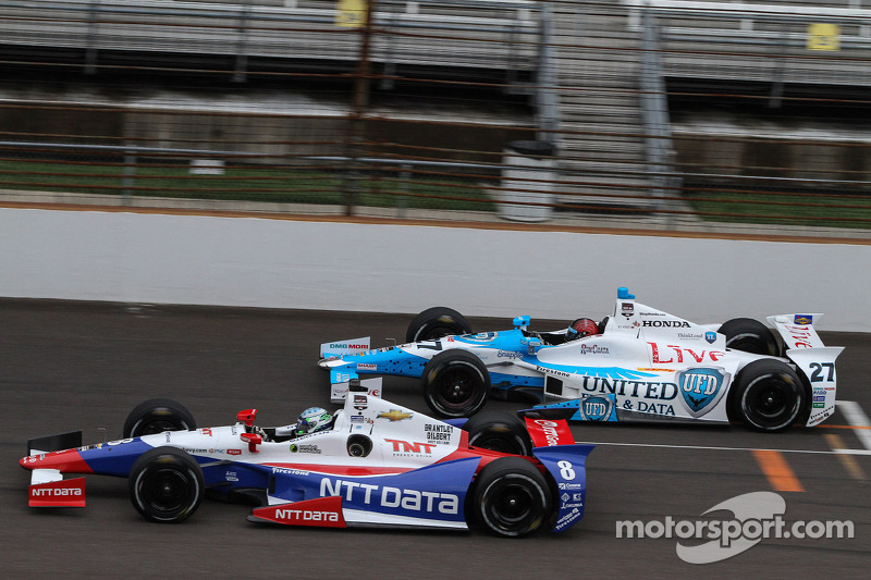 EJ Viso and Ryan Briscoe