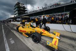 Car of Ryan Hunter-Reay, Andretti Autosport Honda