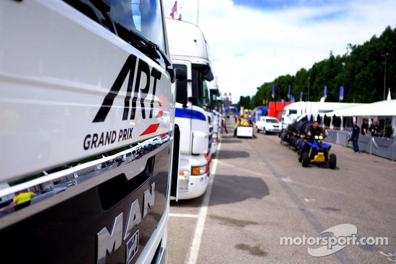 ART Grand Prix trucks