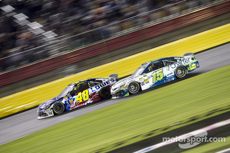 Jimmie Johnson e Clint Bowyer
