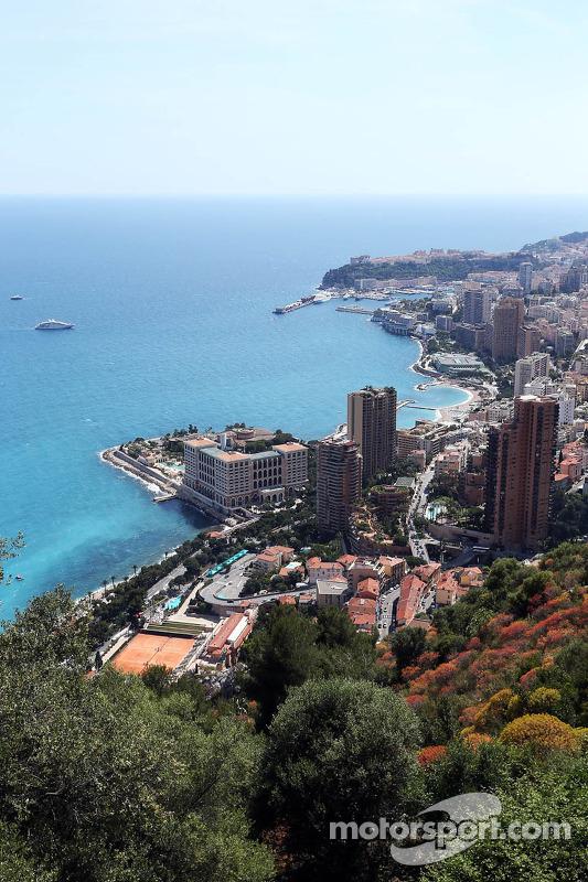 Vista em Mônaco