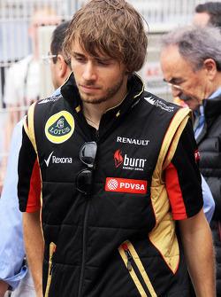 Charles Pic, Lotus F1 Team Terzo pilota