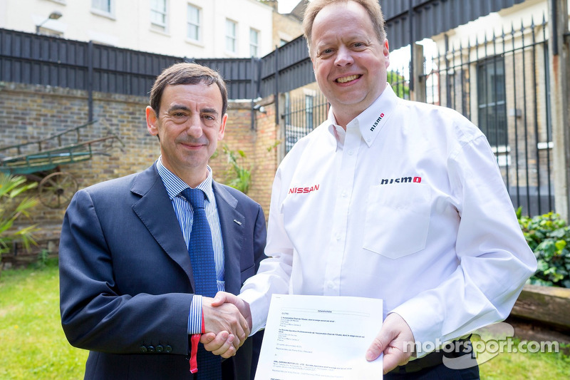 ACO President Pierre Fillon with Nissan Chief Planning Office & Executive Vice-President, Andy Palmer