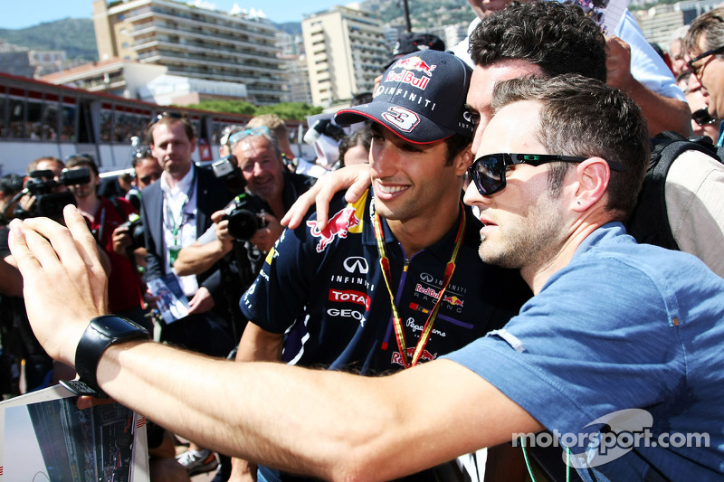 Daniel Ricciardo, Red Bull Racing ve taraftarlar