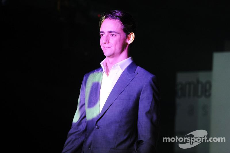 Esteban Gutierrez, Sauber Amber Lounge Fashion Show'da