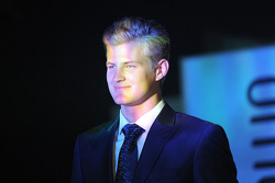 Marcus Ericsson, Caterham all'Amber Lounge Fashion Show