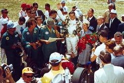 Race winner Jim Clark