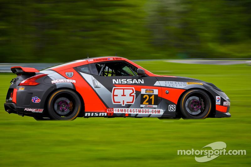 #21 蒂姆·贝尔 Racing 日产 370Z: 彼得·麦金托什, Bryan Ortiz