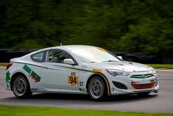 #94 Irish Mike's Racing 现代 劳恩斯: 大卫·蒂勒纽斯, 拉明·阿卜杜勒瓦哈比